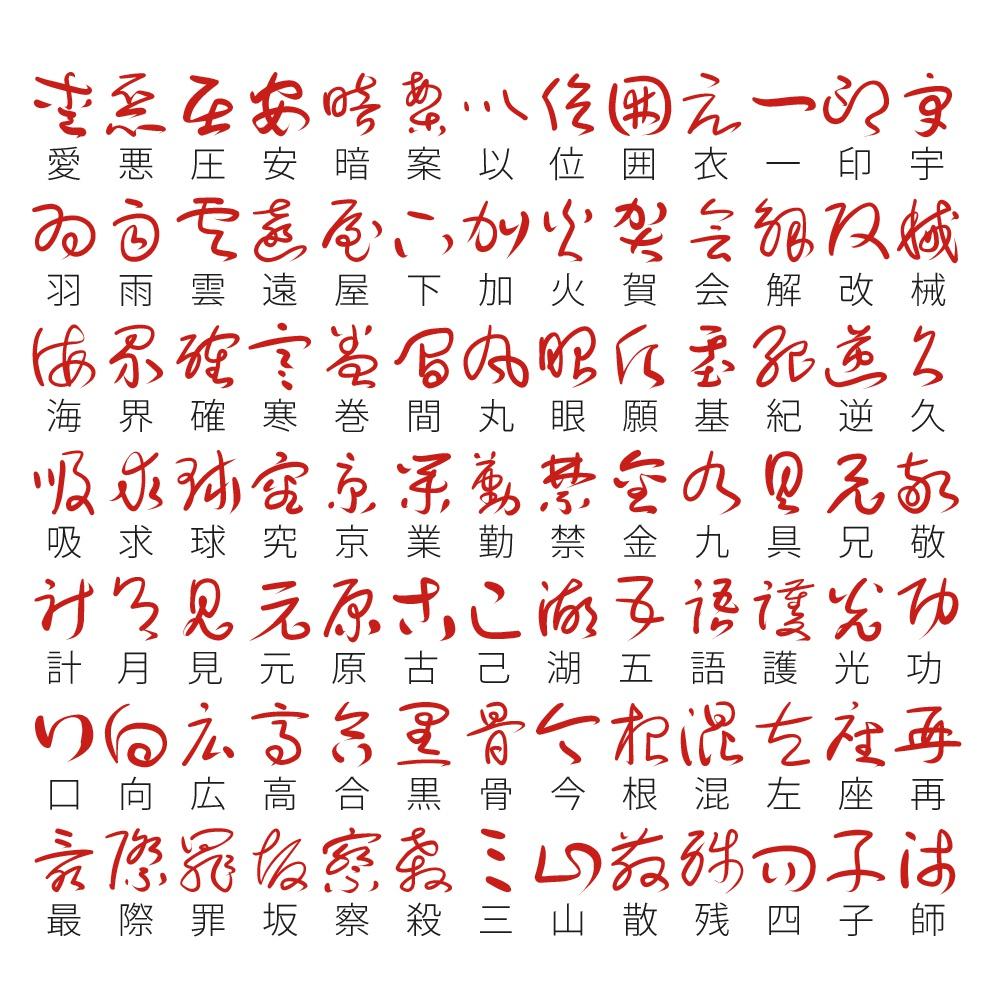 草書フォント(があた草書)