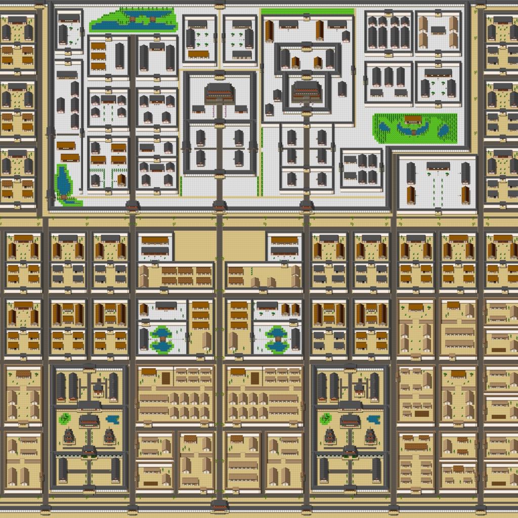 古代日本風タイルセット素材2(飛鳥~奈良)(17.04.21)