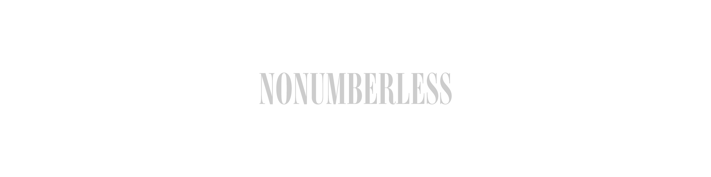 NONUMBERLESS - BOOTH