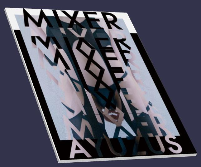新刊写真集「MIXER」ayuzu_s PORTFOLIO 2017 AW