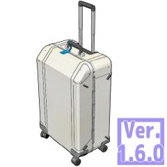 3D キャリーバッグ(クリスタ1.6.0~・コミスタ用)スーツケース