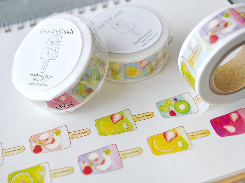 Fruit Icecandy masking tape