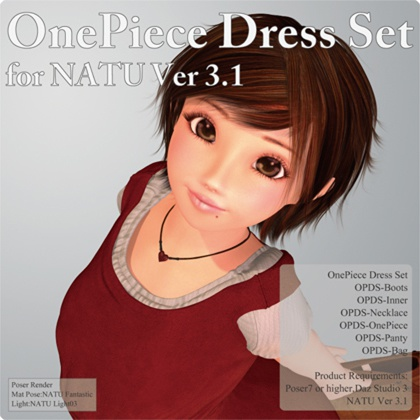 OnePiece Dress Set for Natu Ver 3.1