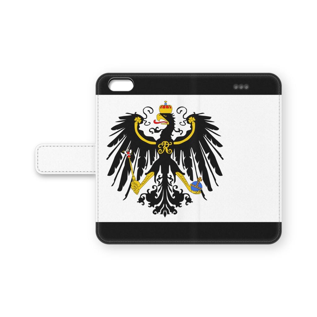 プロイセン 手帳型iPhoneケース
