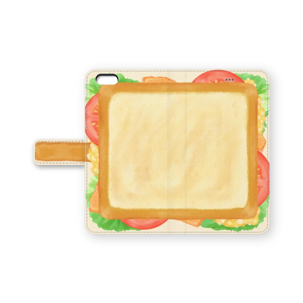 サンドイッチiPhoneカバー