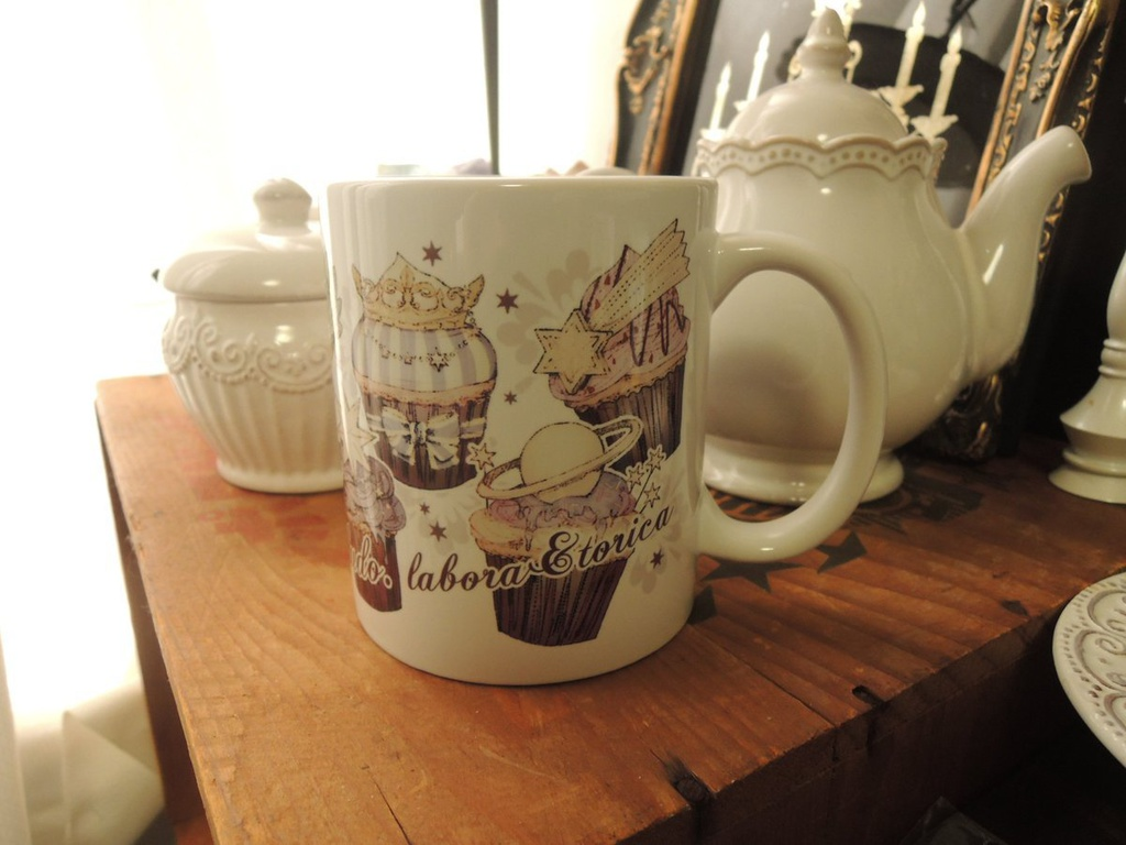 夜空のフェアリーケーキ マグカップ
