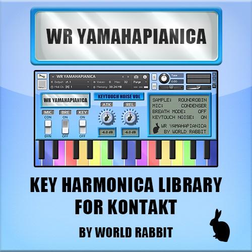 KONTAKT用鍵盤ハーモニカ音源「WR YAMAHAPIANICA」