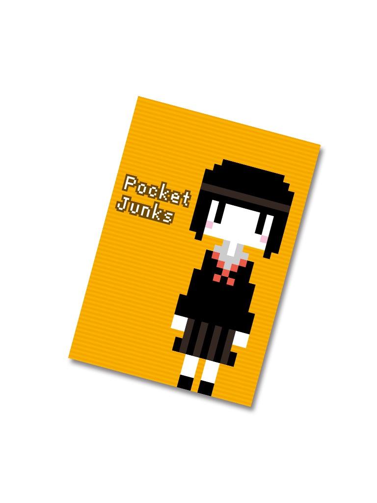 ドット絵イラスト集 Pocket Junks