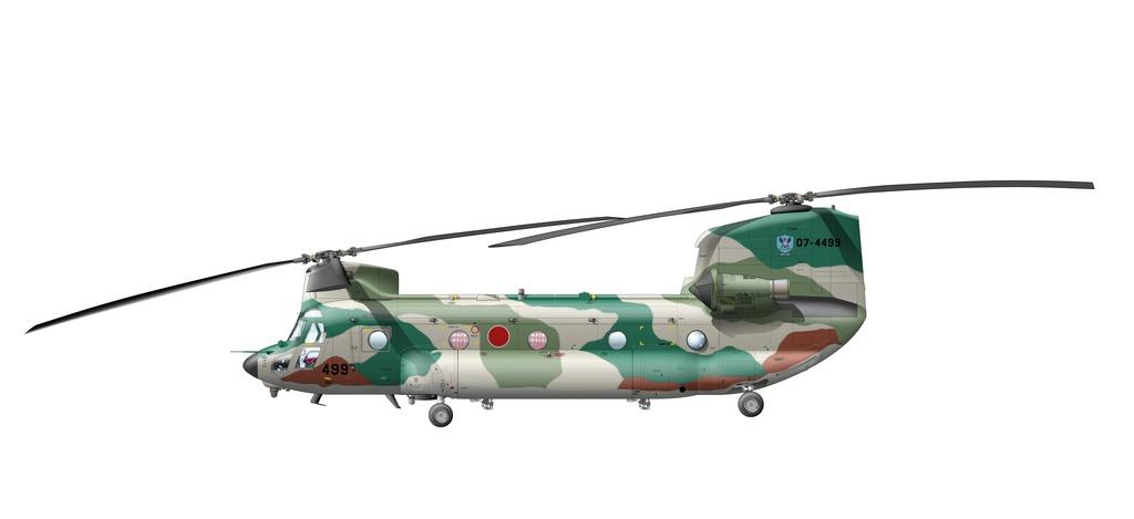 CH-47(LR) 入間RQ #499