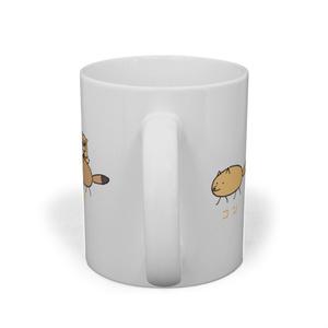 狐とたぬきマグカップ