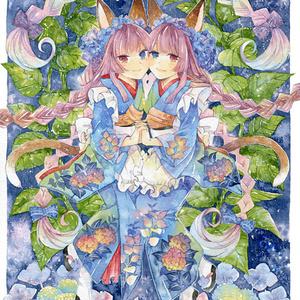 ポストカード「紫陽花庵」