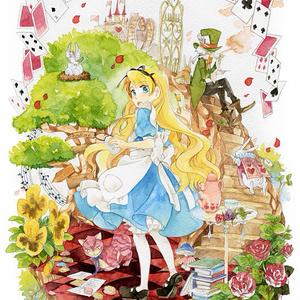 ポストカード「不思議の国のアリス」