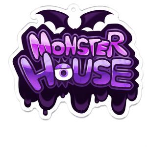 MONSTER HOUSE ロゴアクリルキーホルダー