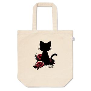 猫と薔薇 *赤*