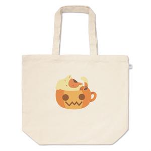 かっぷにゃんこ *ぽかぽかぼちゃ* 三毛猫