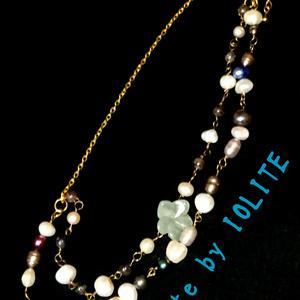 緑の花咲く貴方 ネックレス