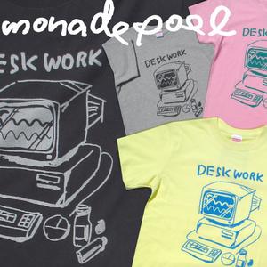 デスクワークTシャツ