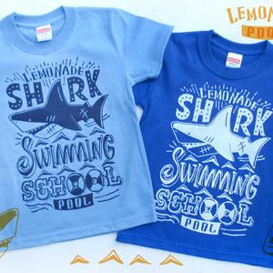 シャークスイミングスクールTシャツ(キッズ90〜160)