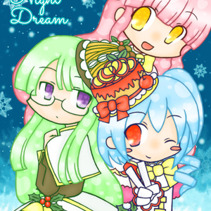 【イラスト集】Snow Night Dream