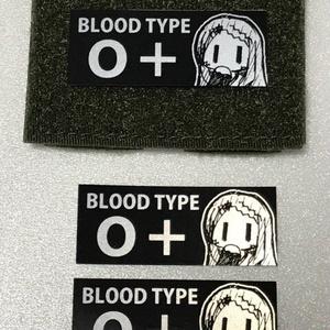青羽ここな血液型パッチ&ステッカーセット