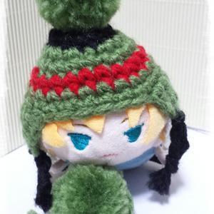 """もちマス 冬帽子 """" 祝 """""""