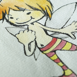 水彩手描き原画◆みつばち◆ポストカード