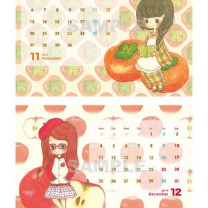 2017カレンダー『FRUIT GIRLS』