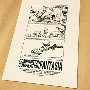 【構図集】COMPOSITION COMPILATION FANTASIA【コミティア123】