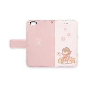 ★手帳型iPhoneケース~女の子~