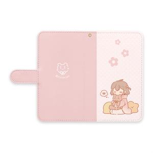 ★手帳型Androidケース~女の子~