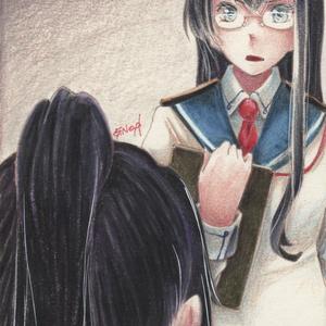 「海外艦ヘリオポーズ」原画②