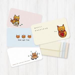 柴犬ラク サンキューカード