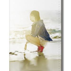 「夜明けより前の君へ」手帳型スマートフォンケース