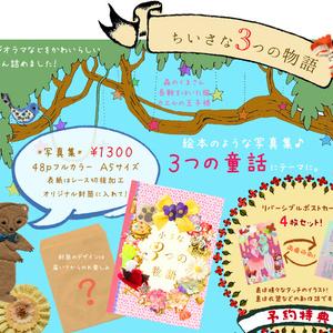 童話絵本写真集『小さな3つの物語』