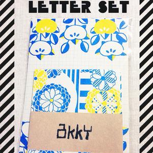 mini letter set 菊
