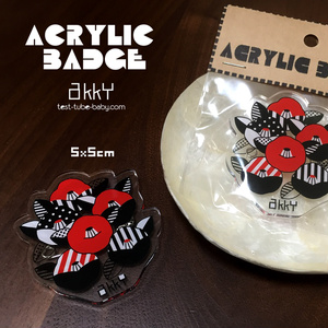 ACRYLIC BADGE