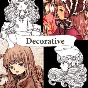 イラスト集「Decorative」