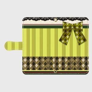 (Android用)瑞穂モチーフ手帳型スマホケース