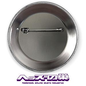 帯刀JK 8BIT缶バッジ レッド