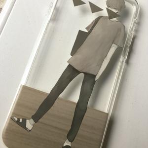 iPhone6/6sケース 透明タイプ