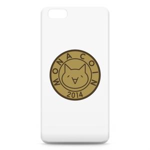 iPhone6 Plusケース リアルモナコイン表柄 文字無 メダル色