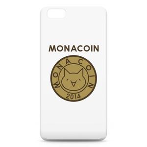 iPhone6 Plusケース リアルモナコイン表柄 文字有 メダル色