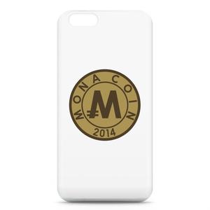 iPhone6ケース リアルモナコイン裏柄 文字無 メダル色