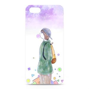 『思い描いて』iPhoneケース