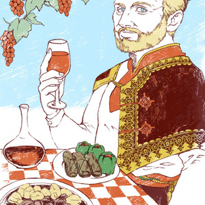 世界のおじちゃんポストカード クロアチア