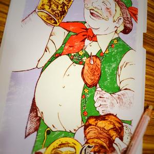 世界のおじちゃん クリアファイル ドイツ 1/9(火)~28(日)個展「世界のおじちゃんの休日」展でも販売中