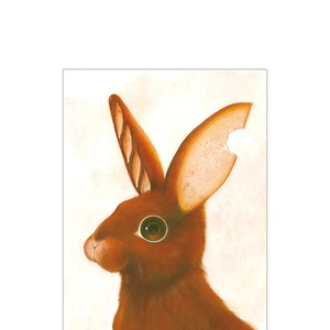 ポストカード「パンの耳 -rabit-」