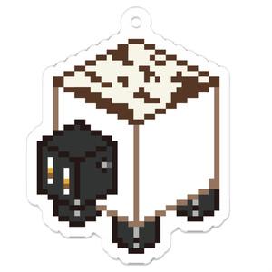 アクリルキーホルダー【焼き豆腐】