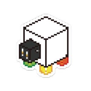 アクリルバッジ【杏仁豆腐】
