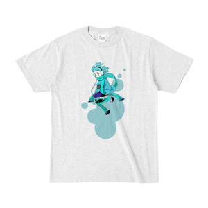 スノー:カラーTシャツ(淡色)